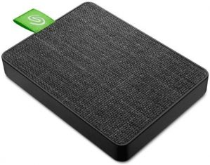 Seagate Ultra Touch SSD Negro 1TB
