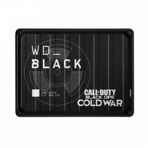 Western Digital Black P10 Game Drive Negro Call of Duty Black Ops Cold War Edition 2TB