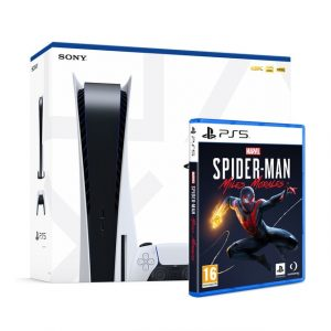 Sony Computer PlayStation 5 825GB + Marvel's Spider Man Miles Morales
